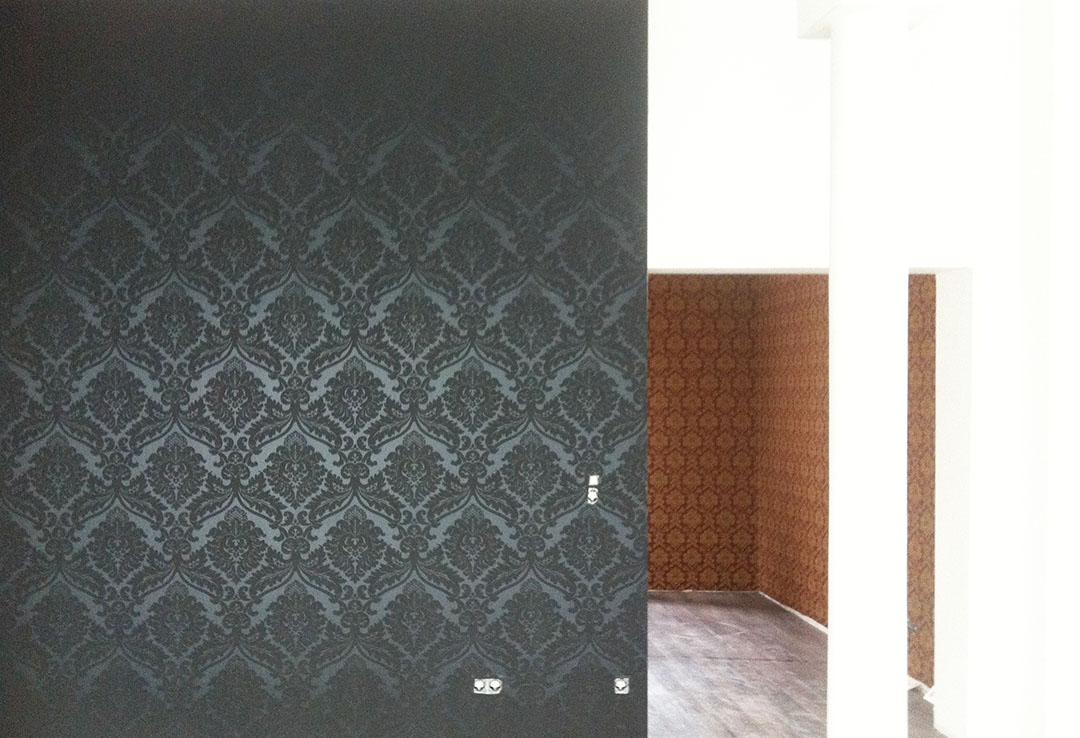 Wandgestaltung - Barocktapete 2