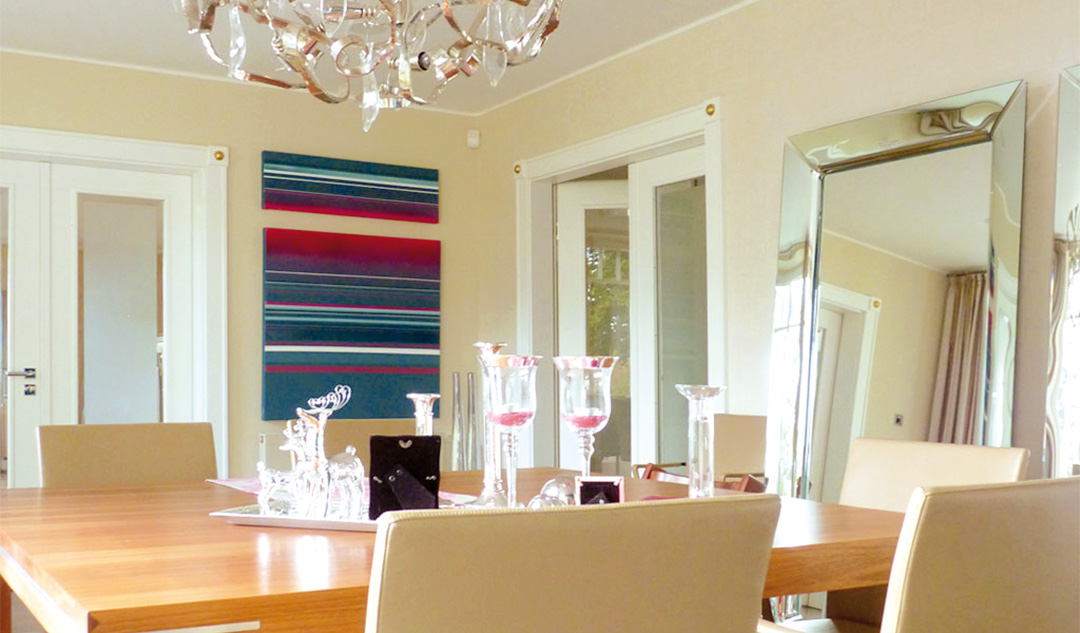 Farbdesign - Esszimmer - Detail - 2