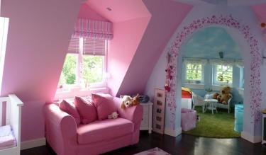 Farbdesign Kinderzimmer - Detail 5