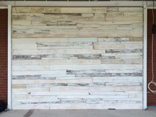 Vintage Wand - Oberflächengestaltung - Detail - 2 - Holzbretter - Raumgestaltung