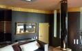 Farbdesign - Wandgestaltung mit Goldornament (Detail 2)