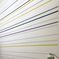 Farbdesign - Wandorenament - Streifen (Detail) - Streifen - Wandgestaltung