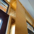 Vergoldete Wand - Wandveredelung - Blattgold - Wandvergoldung