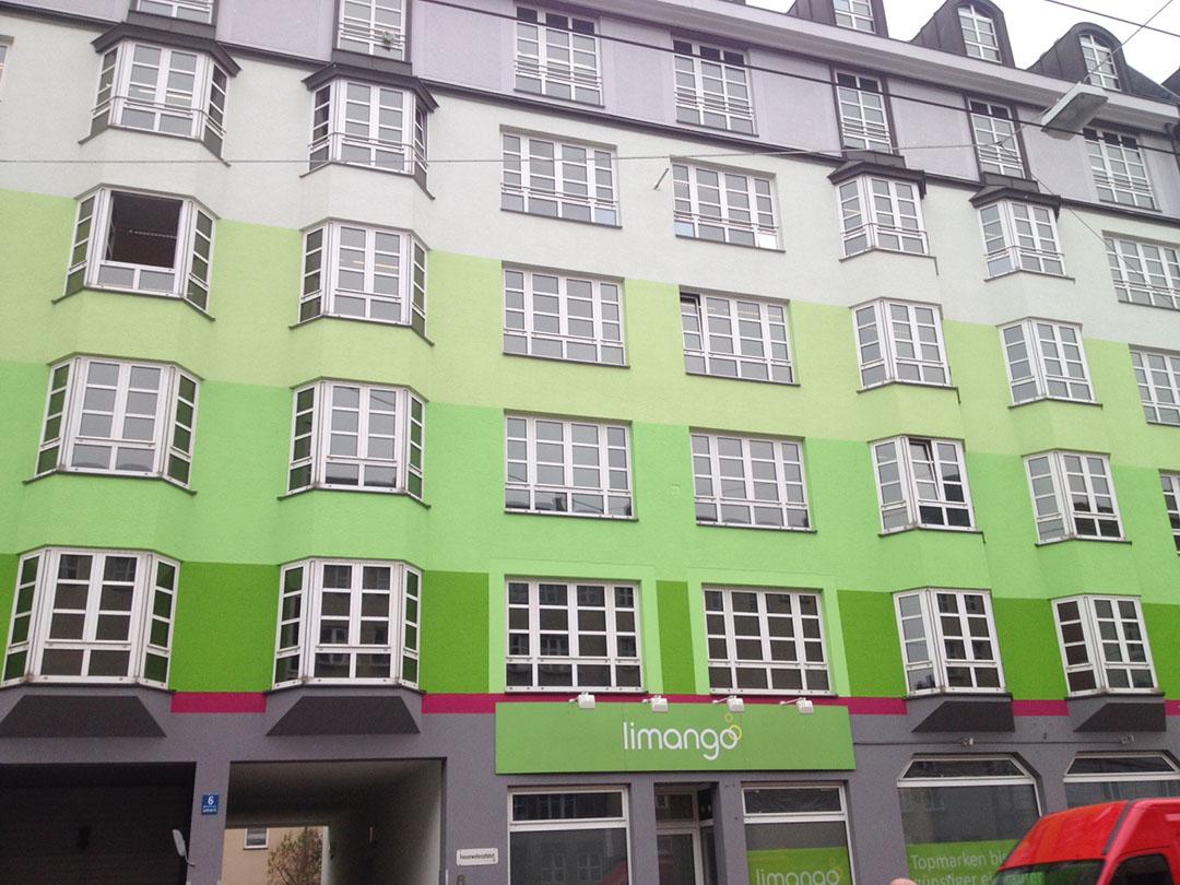 Fassadengestaltung mehrst ckiges haus detail farbcompany - Farbkonzept haus ...