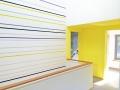 Farbdesign - Wand - Streifen - Wandorenament
