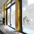 Vergoldete Wand - Blattvergoldung - Wandvergoldung