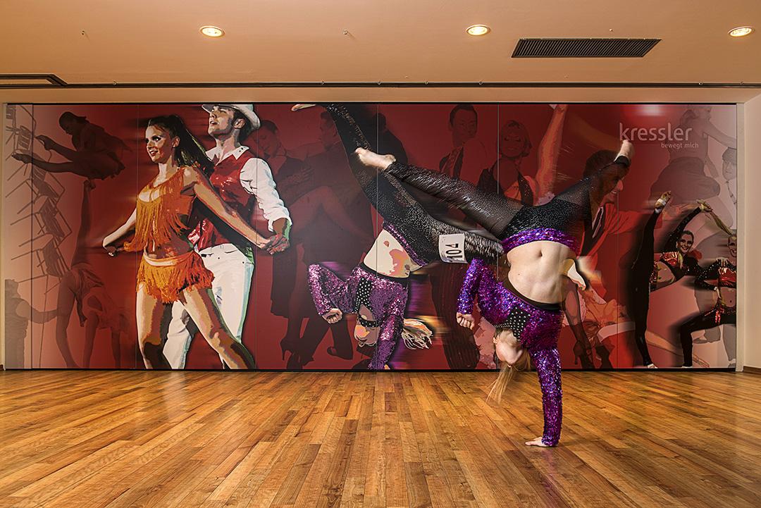Wandmalerei - Tanzstudio - 3