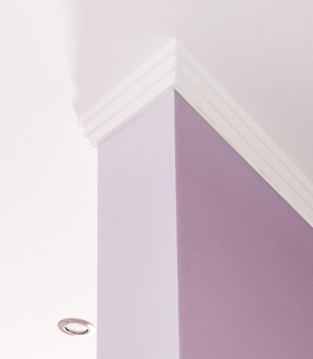 Malerarbeiten - Innenraumgestaltung - (Detail)