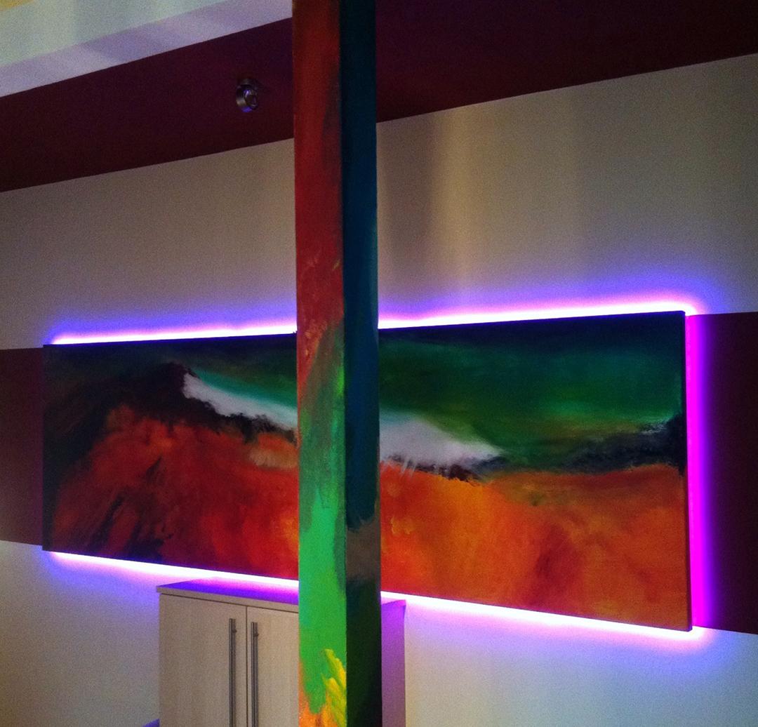 wandgestaltung – licht – 2 – farbcompany