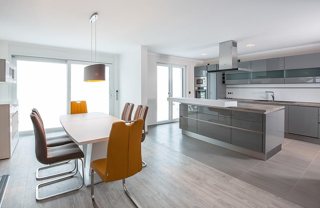 Malerarbeiten - Küche und Wohnbereich