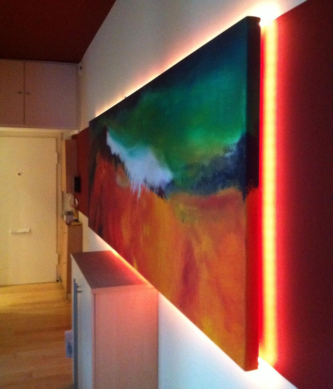 wandgestaltung – licht – 3 – farbcompany