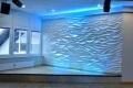 Wandgestaltung - 3D Wellenwand - 2