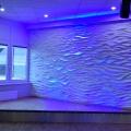 Wandgestaltung – 3D Wellenwand –1