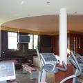 Wandgestaltung - privater Fitnessraum - Wohnraumgestaltung