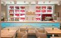 Farbdesign - Innenraumgestaltung - Restaurant