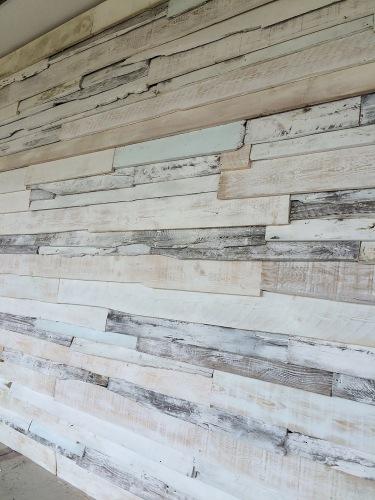Vintage - Wand - Wandgestaltung mit Holz - Holzbretter