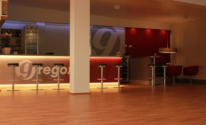 Raumgestaltung Tanzsaal