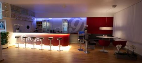 Farbkonzept - Gestaltung - Tanzschule - Farbkonzept Innenraum