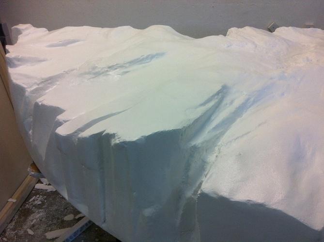 Eislandschaft (Ausschnitt)